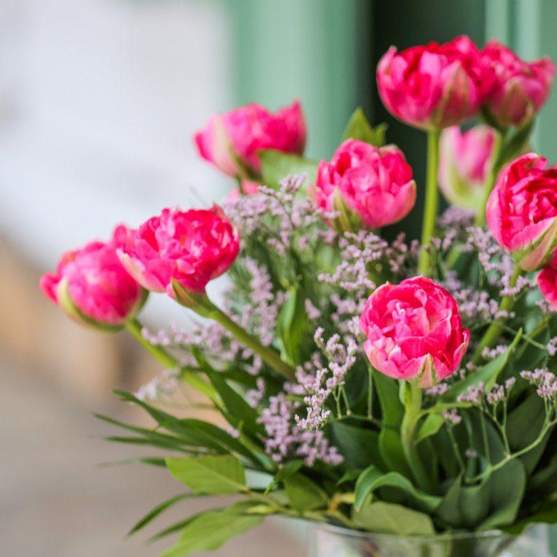 Ramo Tulipanes magenta