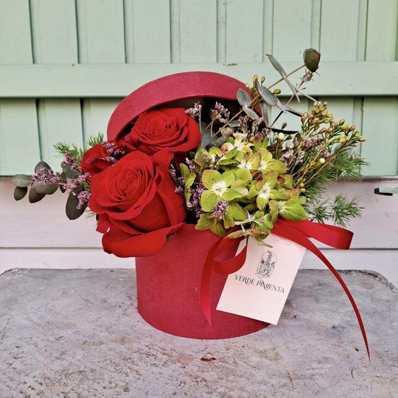 Caja rosas Piamonte