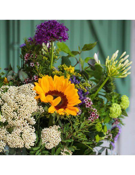 Ramo flores girasoles