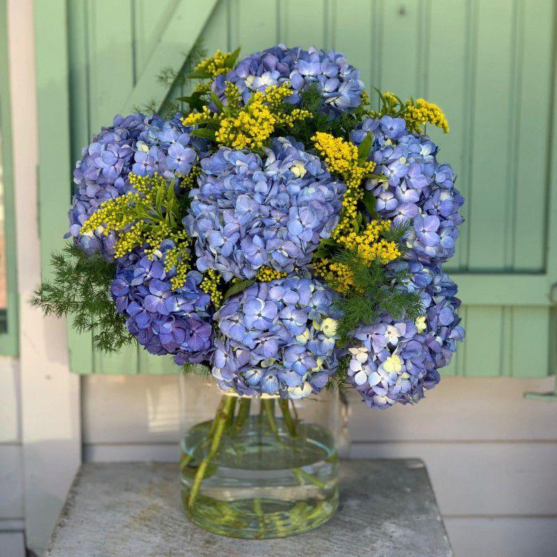 Ramo Hortensias azules Ferrara