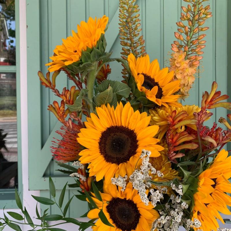 Centro flores Columba