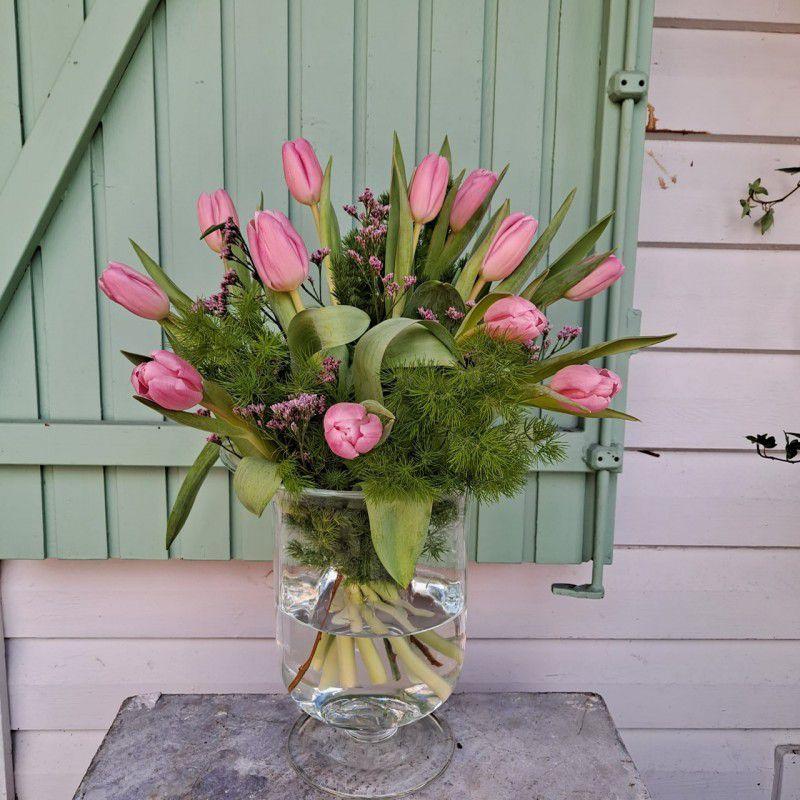 Ramo tulipanes rosas