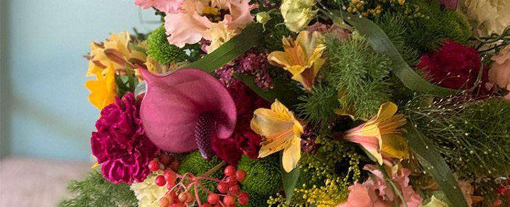 flores a domicilio en las rozas, floristeria verdepimienta